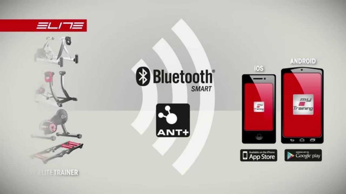 Rolo De Treino Bicicleta Elite Qubo Digital Smart B+ Zwift