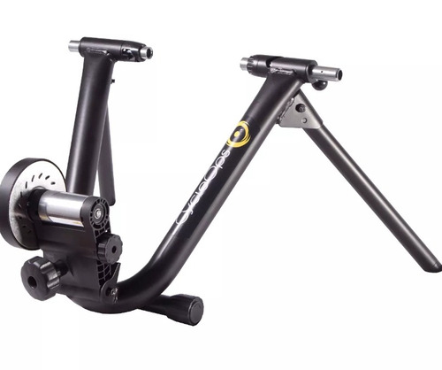 rolo de treino profissional cycleops mag+ controle no guidao