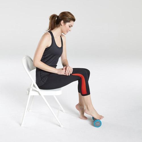 rolo masaje pies homedics vibración estimulación texturada