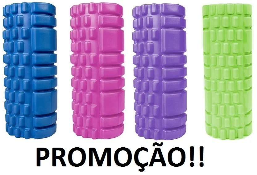 48dda40b2 Rolo Massagem Roller Foam Liberação Miofascial Soltura Yoga - R  81 ...