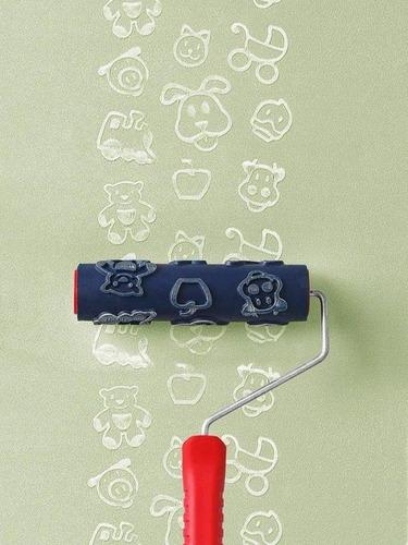 rolo para textura magiefeito infantil com suporte at1109 - a