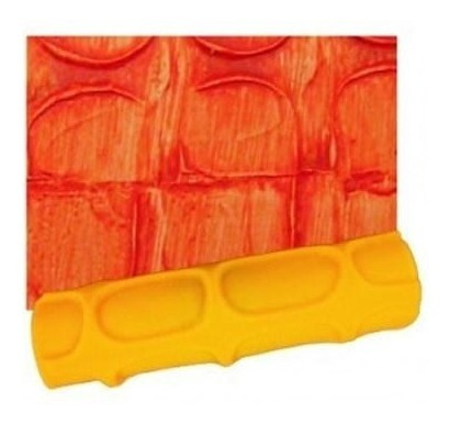 rolo para textura texturato com suporte 764 - roloflex