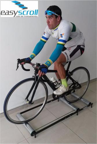rolo para treino indoor/ aquecimento (trainer,rpm,spinning)