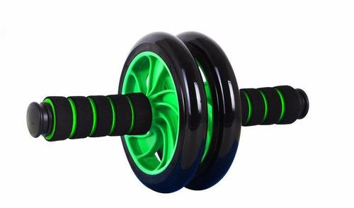 rolo roda exercicios abdominal lombar exercise wheel + apoio