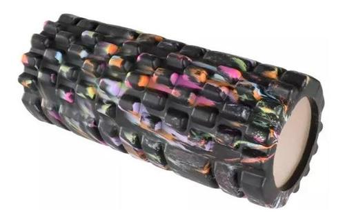 rolo rodillo de yoga pilates masajes texturado 35 cm