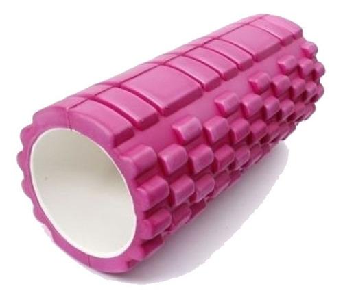 rolo rodillo texturado goma eva masaje yoga pilates cilindro