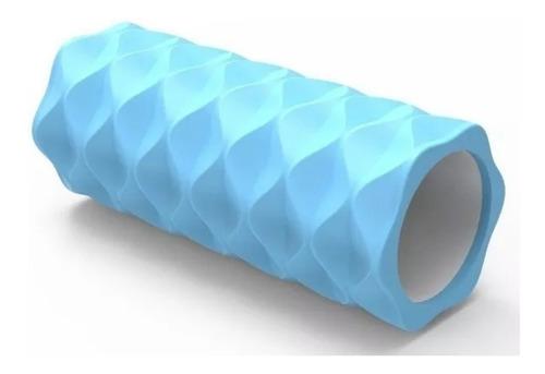 rolo rodillo yoga pilates masajes rollo 33 cm eva proyec