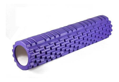 rolo rodillo yoga pilates masajes texturado elongacion 61 cm