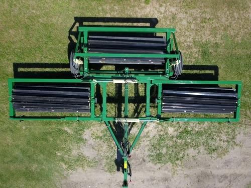 rolo triturador de rastrojos - 6.75 mts ancho de labor