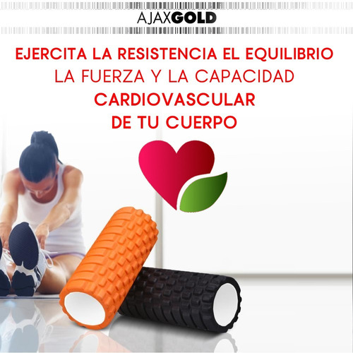 rolo yoga pilates rodillo masajes color textura original