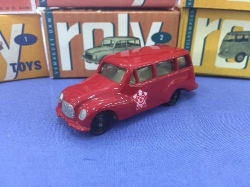 roly toys -  2 dkw vemaguet  - reedição