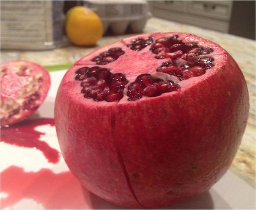 romã gigante pomegranate punica 10 sementes fruta para mudas