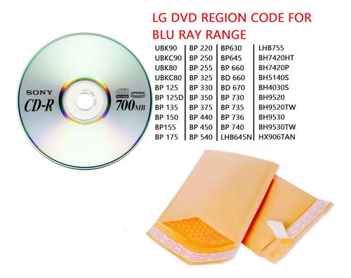 rom para trasformar lg bluray dvd multizona