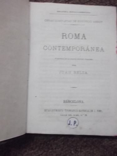 roma contemporánea edmundo about 1875