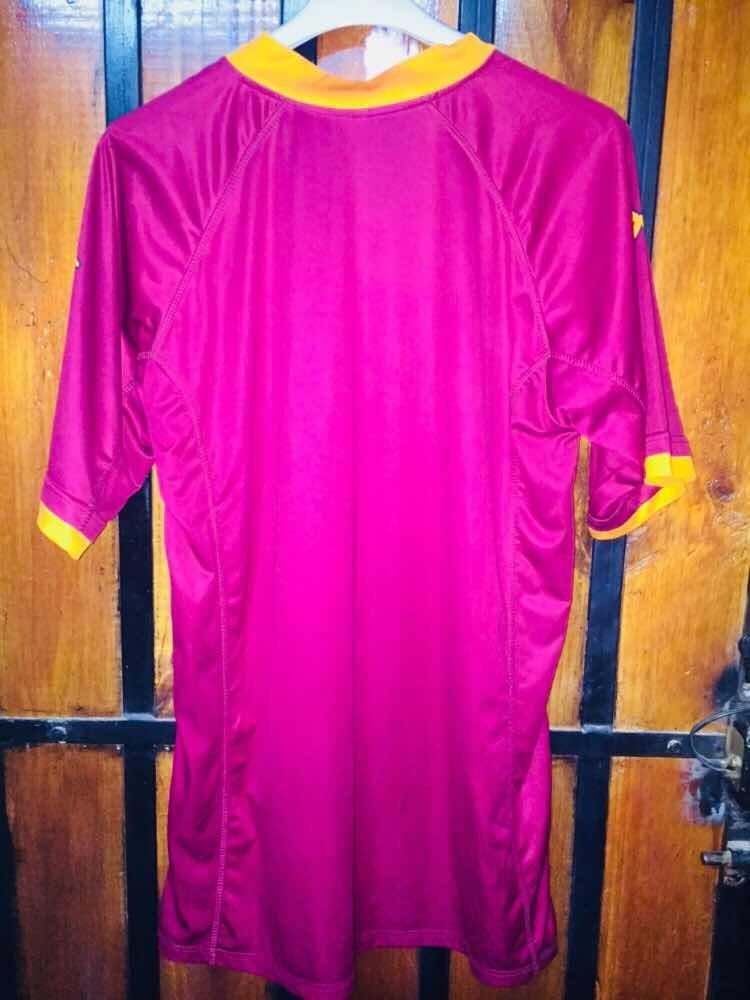 Camiseta Marca Kappa De La Roma De Italia Talla L Totti -   35.000 ... c70d54035d0f4