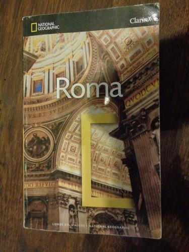 roma. libro del viajero. national geographic. clarin,