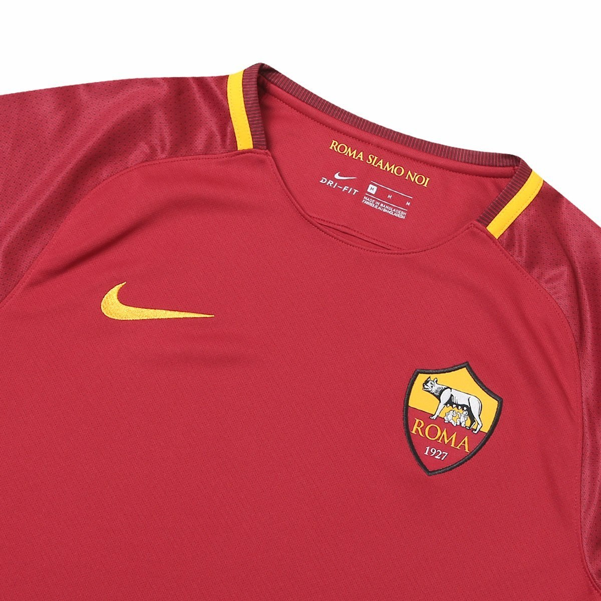 8a9ef2de56 Camisa Roma Home 17 18 S n° Nike Torcedor Masculina - Vinho - R  160 ...