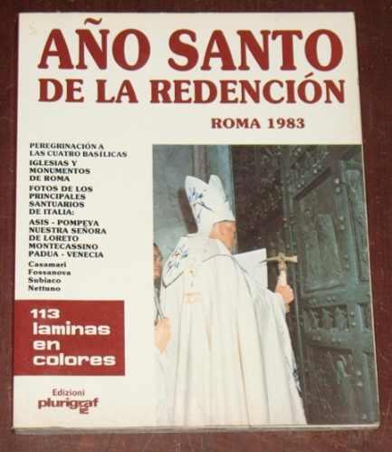 roma museos vaticano 1983 año santo de la redención religión