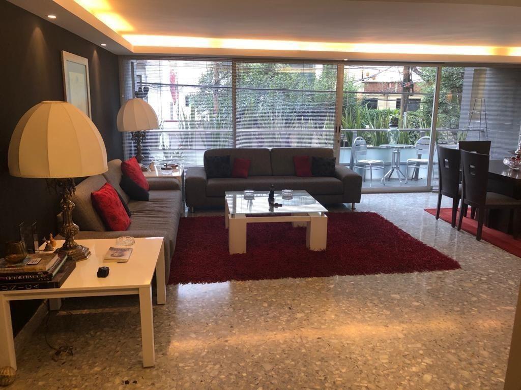 roma sur, hermoso y amplio departamento remodelado, con terraza