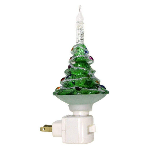 roman 33676 - 7 -inchchristmas tree bubble light luz de la n