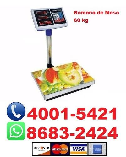 romana, balanza de mesa. electrónica digital. carnicería.