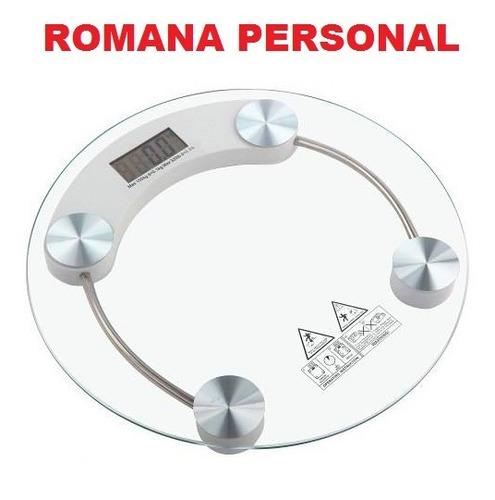 romana, balanza de piso, electrónica digital, verdulería.