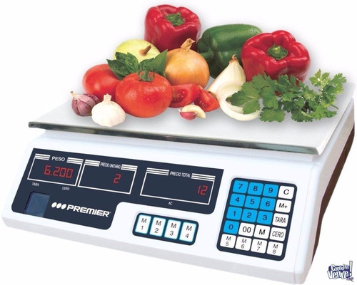 romana digital electrónica, balanza, 30 kg, verdulería.