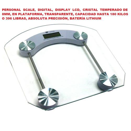 romanas-pesas para baño, uso personal, digital, lcd, cristal