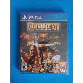 Romance Of The Three Kingdoms Xiii Ps4 Nuevo Playstation 13