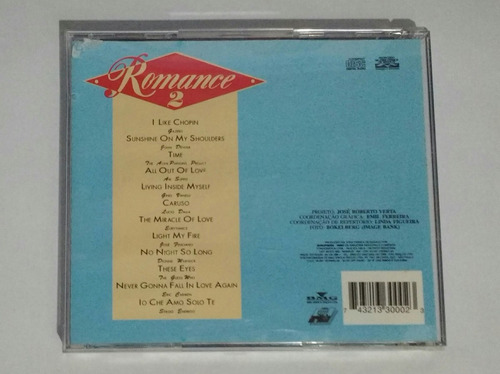 romance - volume 1 e 2 cd coletâneas romanticas