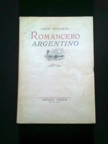 romancero argentino, leon banaros