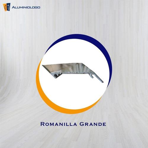 romanilla grande de aluminio (6,10m)
