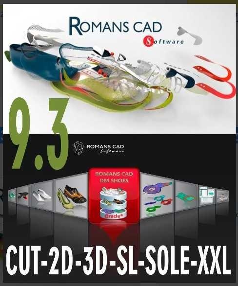 romans cad 9 3 paquete completo dise o de calzados digital 199 rh articulo mercadolibre com ar