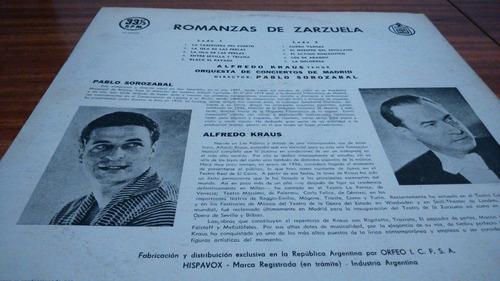 romanzas de zarzuela por alfredo kraus