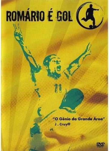 romário é gol - dvd - um show do gols do genial baixinho