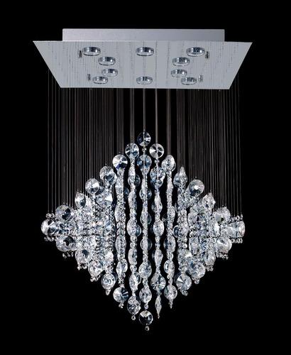 rombo de 10 luces de led de cristal envío gratis