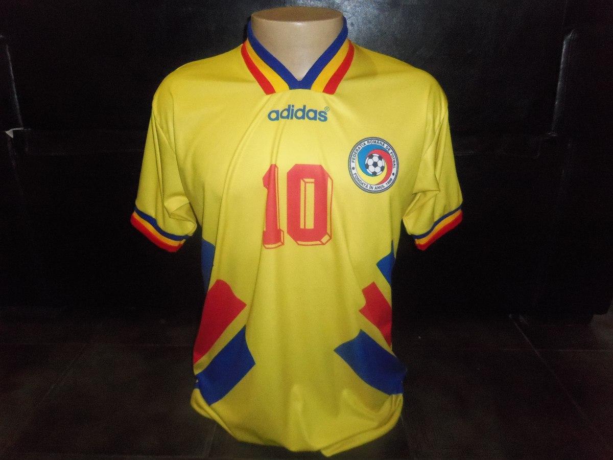 05c34adae9 Romenia 1994 Retro Hagi Copa Do Mundo Mourasport - R  139