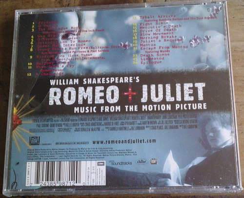 romeo & juliet cd hecho en uk 1996. nuevo,sellado de fabrica