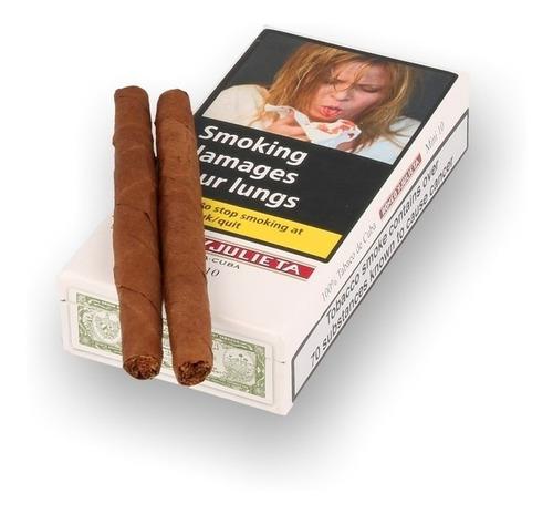romeo y julieta 10 habanos mini fumar cigarros cubanos caja