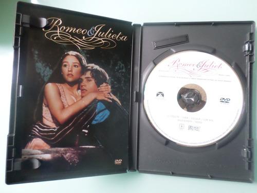 romeo y julieta -de franco zefirelli -version de 1968 -dvd