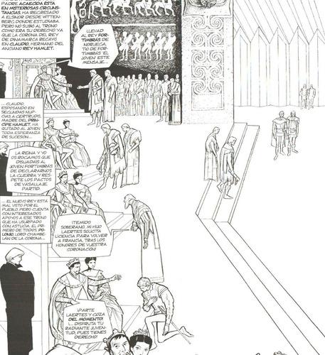 romeo y julieta + hamlet + macbeth - comics novelas gráficas