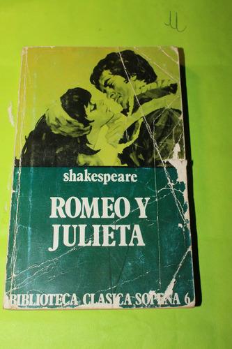 romeo y julieta  shakespeare