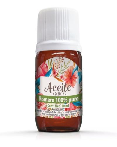 romero 10 ml aceite esencial 100% puro