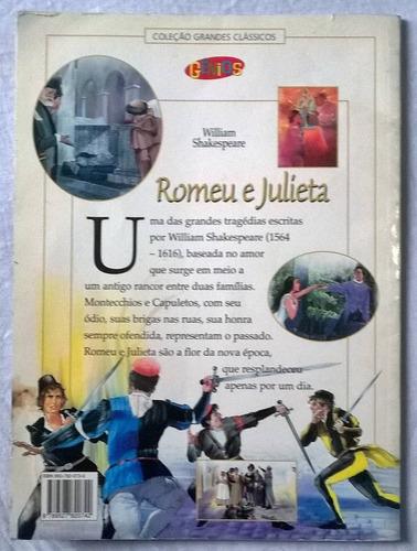 romeu e julieta - livro paradidático - editora gênios