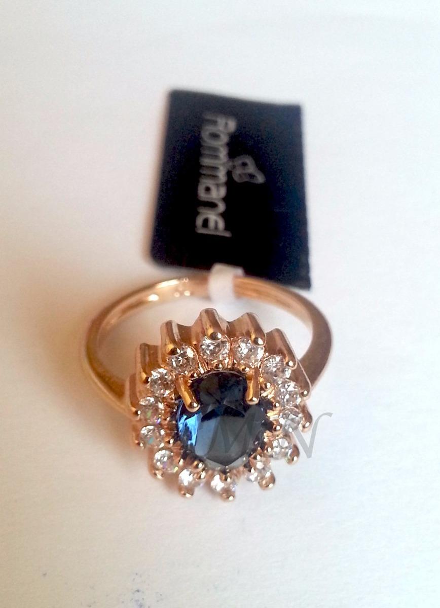 5c9bf7bf3543c rommanel anel formatura safira azul feminino folhe 511482. Carregando zoom.