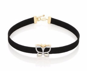 rommanel choker couro collection 30 anos.med 36cm 531725