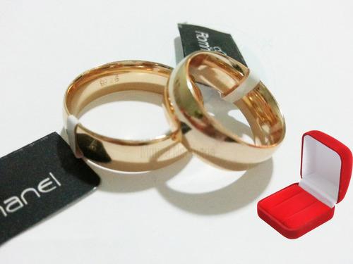 rommanel par de aliança grossa casamento muito barata 511618
