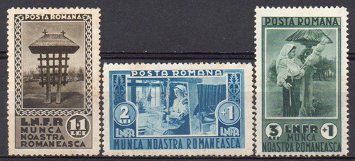 romênia - nosso trabalho romeno - 1934 - s/completa