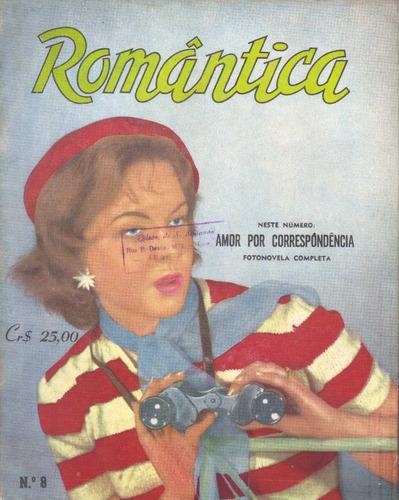 romântica nº 8  fotonovela amor por correspondência