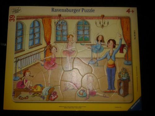 rompe cabezas de niña raversburger 39 piezas usado